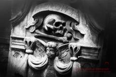 Memento Mori headstone Cuthberts