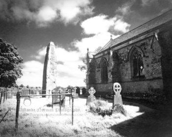 Rudston Monolith in Yorkshire