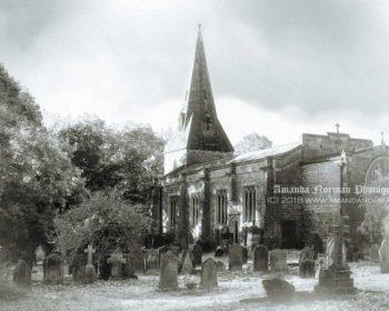 Church of St John Lee, Acomb, Northumberland